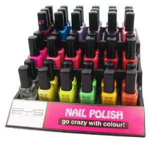 <b>Spring/Summer 2012 Nail Polish Selections - Tray 1</b>